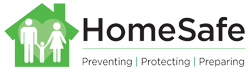 HomeSafe – Preventing, Protecting and Preparing Logo